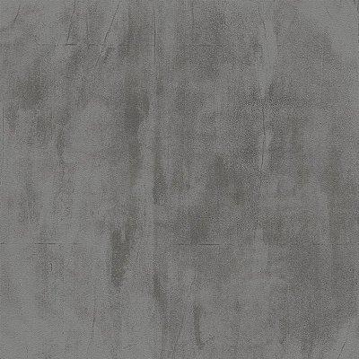 Papel de Parede Cimento Queimado Cinza Escuro  Bobinex Natural 1436 Vinílico Lavável