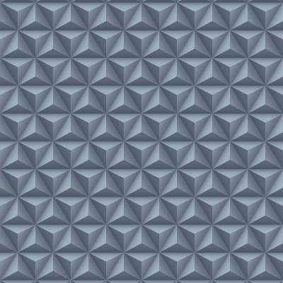 Papel de Parede Geométrico 3D Azul Marinho Bobinex Diplomata 3152 Vinílico Lavável