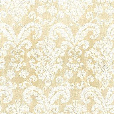 Papel de Parede Floral Bege Manchado Bobinex Classique 2846