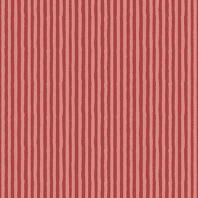 Papel de Parede Listras Vermelhas Bobinex Infantário 1749