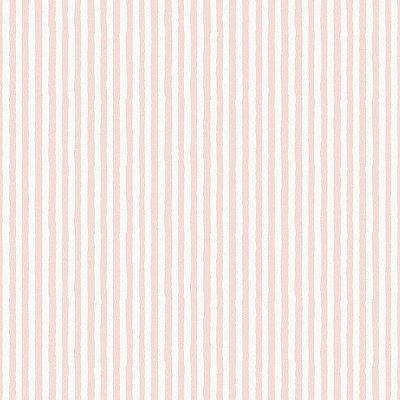 Papel de Parede Infantário Listras Rosa e Branca Bobinex Infantário 1753