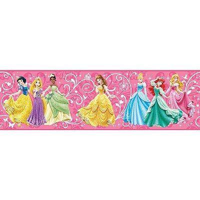 Faixa de Parede Princesas Disney York II DS7600BD