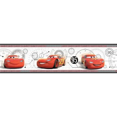 Faixa de Parede Carros Disney York II DS7651BD