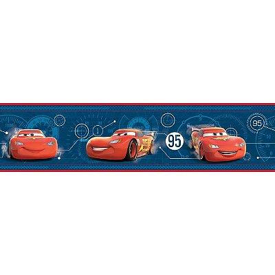 Faixa de Parede Carros Disney York II DS7652BD