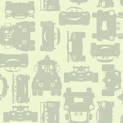 Papel de Parede Carros Disney York II DS7668