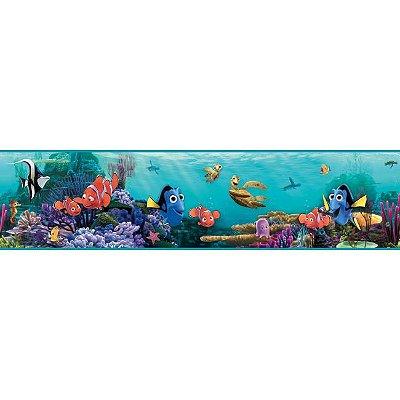 Faixa de Parede Procurando Nemo Disney York II DS7686BD