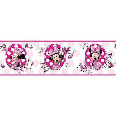 Faixa de Parede Minnie Disney York II DS7702BD