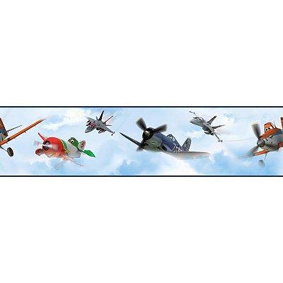 Faixa de Parede Aviões Disney York II DS7718BD