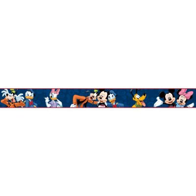 Faixa de Parede Turma do Mickey Disney York II DS7805BD