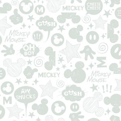Papel de Parede Mickey Disney York III DS7812