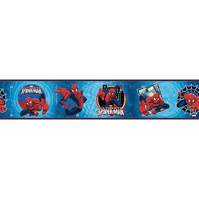 Faixa de Parede Disney York II Homem Aranha ZB3262BD