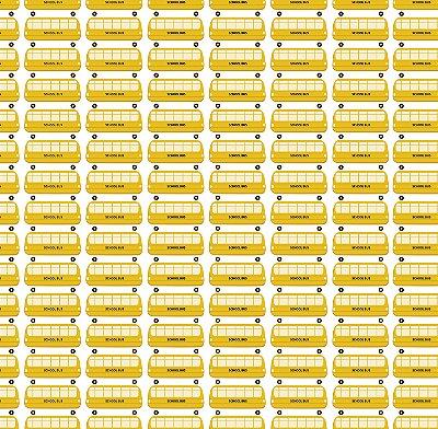 Papel de Parede Ônibus Amarelos Bobinex Renascer 6205 Vinílico