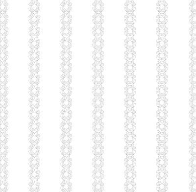 Papel de Parede Listras com Borboletas Cinza Bobinex Renascer 6220 Vinílico