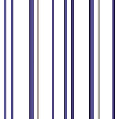 Papel de Parede Listras Tons de Azul e Cinza Bobinex Renascer 6245 Vinílico