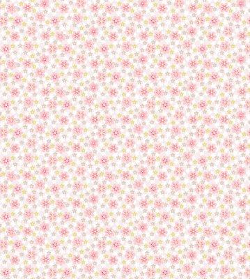 Papel de Parede Florzinhas Tons de Rosa Bobinex Renascer 6253 Vinílico