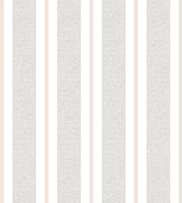 Papel de Parede Listras Tons de Cinza e Bege Bobinex Renascer 6262 Vinílico