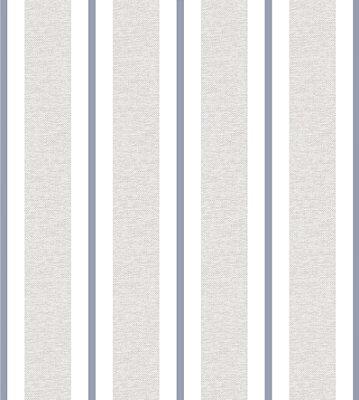Papel de Parede Listras Tons de Cinza e Azul Bobinex Renascer 6264 Vinílico