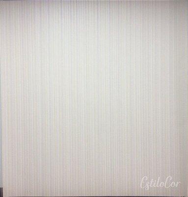 Papel de Parede Listras Texturizadas Bege Claro com Brilho e Relevo Kantai Grace Vinílico GR921701