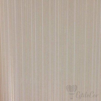 Papel de Parede Listras Texturizadas Cinza Claro com Brilho e Relevo Kantai Grace Vinílico GR921702