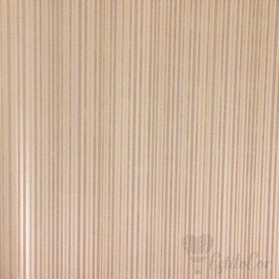 Papel de Parede Listras Texturizadas Bege Escuro com Brilho e Relevo Kantai Grace Vinílico GR921704