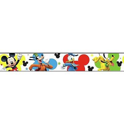 Faixa de Parede Turma do Mickey Disney York III DY0203BD