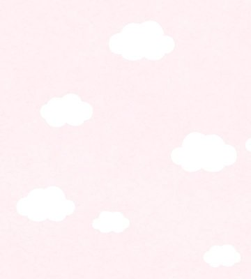 Papel de Parede Nuvem Rosa