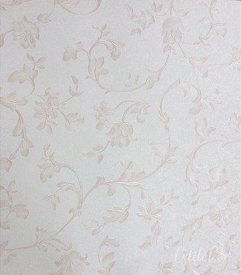Papel de Parede Floral Rosê Vinílico