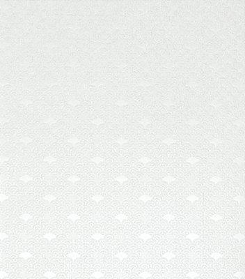 Papel de Parede Leques Branco e Levíssimas Manchas Acinzentadas Vinílico