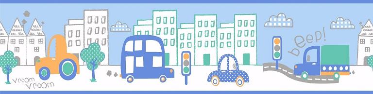 Faixa Treboli Carros Azul
