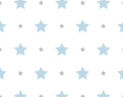 Papel de Parede Treboli Estrela Azul