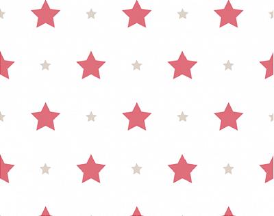 Papel de Parede Treboli Estrela Vermelha