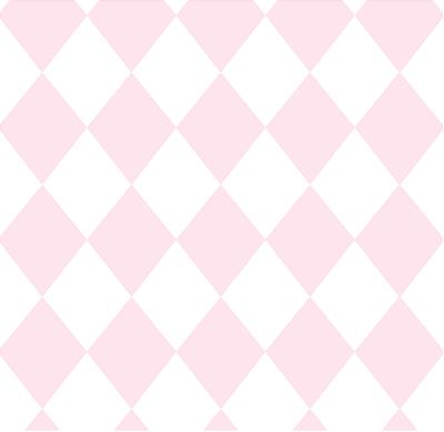 Papel de Parede Treboli Triângulo Rosa