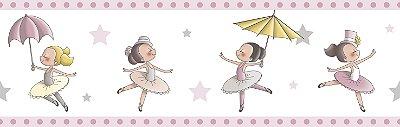 Faixa Treboli Bailarina Rosa