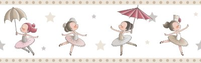 Faixa Treboli Bailarina Bege