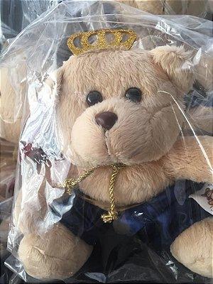Bicho de Pelúcia Príncipe Real Azul Marinho (Tamanho M)