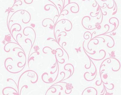 Papel de Parede Princesa Aranesco Rosa DY0339