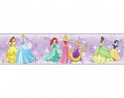 Faixa Princesa Disney Lilás DY0335BD