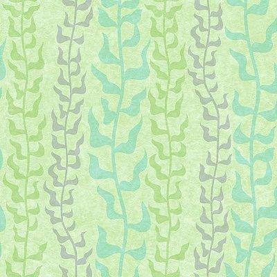 Papel de Parede Dory Mar Verde DY0131