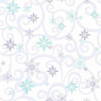 Papel de Parede Frozen Arabesco DY0154