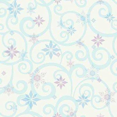 Papel de Parede Frozen Arabesco DY0155