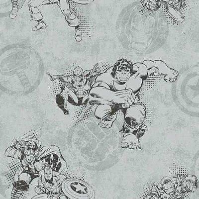 Papel de Parede Vingadores Disney York III DY0245