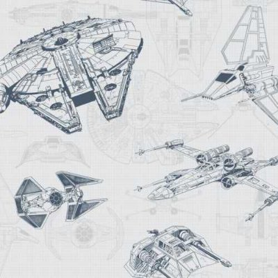 Papel de Parede Star Wars Disney York III DY0306