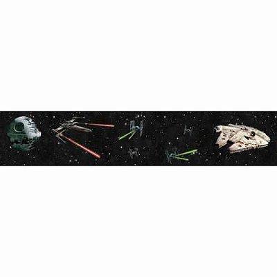 Faixa de Parede Star Wars Disney York III DY0292BD