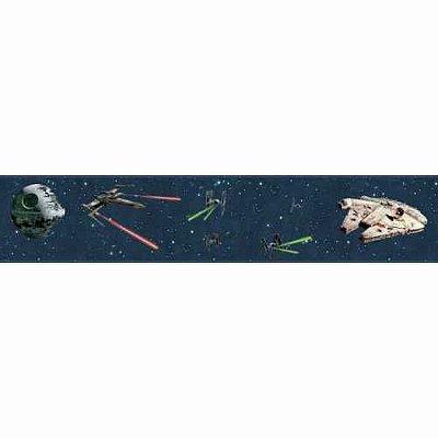 Faixa de Parede Star Wars Disney York III DY0293BD