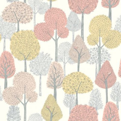 Papel de Parede Dwell Studio Baby Kids DW2400 floresta