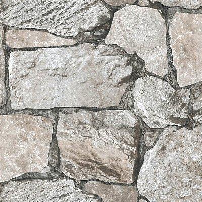 Papel De Parede Vinilico Roll In Stones J95509
