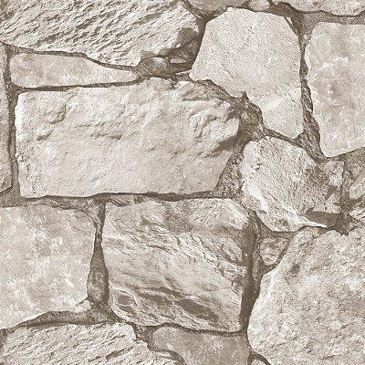 Papel De Parede Vinilico Roll In Stones J95507