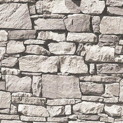 Papel De Parede Vinilico Roll In Stones J45709