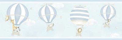 Faixa de Parede Balão Animais