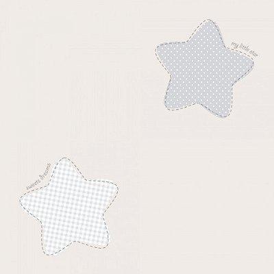 Papel de Parede Lullaby Estrela Polaris Cinza 2243